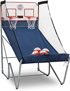 Pop-A-Shot New Official Home Dual Shot Basketball Arcade Game – 16 Individual Games – Durable Construction – Near 100% Scoring Accuracy – Multiple Height Settings – Large LED Scoring System
