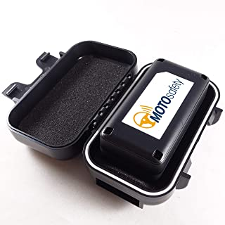 MOTOsafety Mini Portable Real Time Location Personal GPS Tracker to put in a backpack, luggage, purse, tool boxes for adul... photo