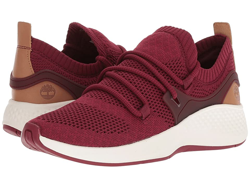 Timberland FlyRoam Go Knit Chukka (Burgundy Knit) Women