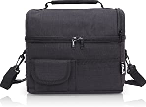 PuTwo Lunch Bag 8L Insulated Lunch Bag Lunch Box Lunch Bags for Women Lunch Bag for Men Cooler Bag with YKK Zip and Adjust...