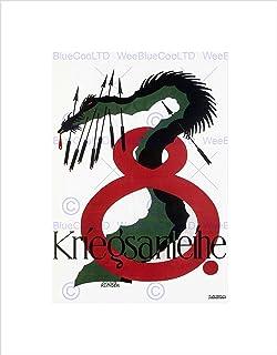 Wee Blue Coo WAR LOAN GREAT FIRST WORLD AUSTRIA HUNGARY VINTAGE AD FRAMED ART PRINT B12X1136