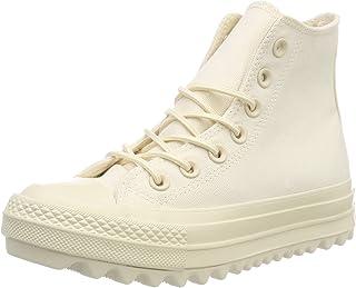 Converse Chuck Taylor CTAS Lift Ripple Hi Canvas, Zapatillas de Deporte Mujer