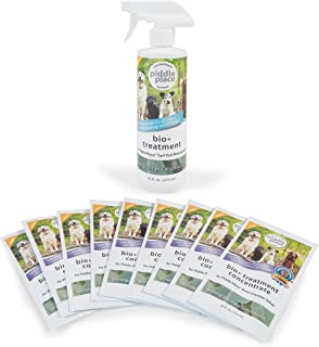 PetSafe Piddle Place Bio+ Treatment 9-Week Supply Combo Pack, Dog and Cat Odor Eliminator