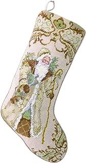 Peking Handicraft 31SJM2029MC Santa with Gifts Needlepoint Stocking, 11x18, Multi Color