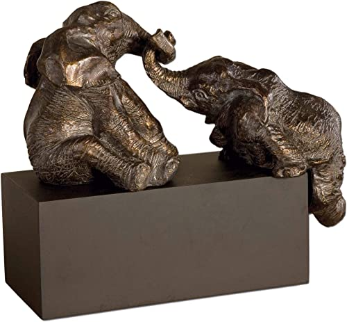"popular Uttermost new arrival 16"" Playful 2021 Pachyderms Elephants Accent Sculpture sale"