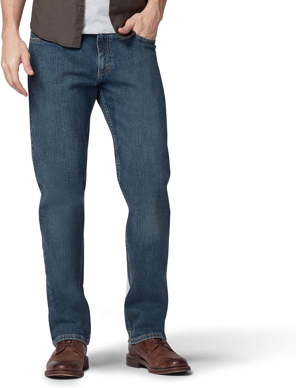 Lee Men's Big Tall Regular Straight Fit Leg 大人気 超定番 Jean