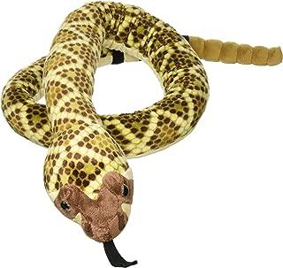 Wild Republic Snake Plush, Stuffed Animal, Plush Toy, Gifts for Kids, Western Diamondback 70