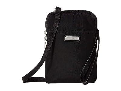 Baggallini New Classic Take Two RFID Bryant Crossbody (Black) Handbags
