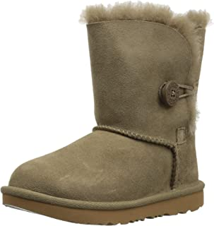 UGG Kids' T Bailey Button Ii Fashion Boot