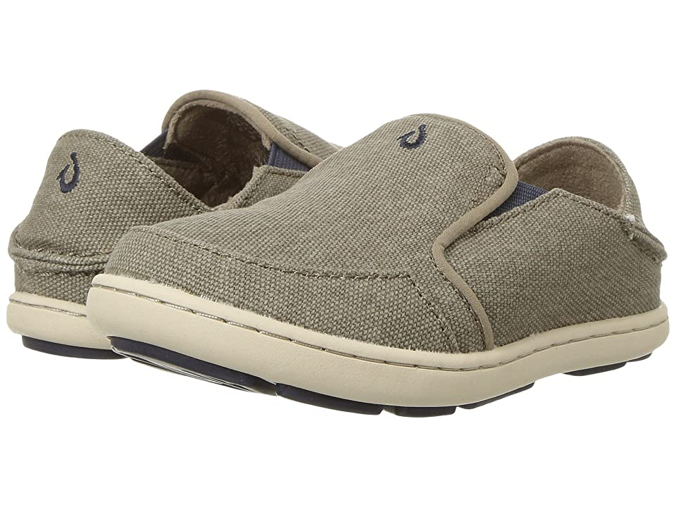 OluKai Kids Nohea Lole (Toddler/Little Kid/Big Kid) (Clay/Trench Blue) Boys Shoes