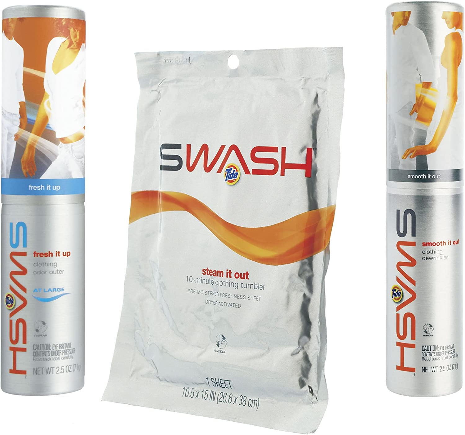 Swash Variety Pack; Fresh It All stores are sold Steam cheap Up Out Smooth