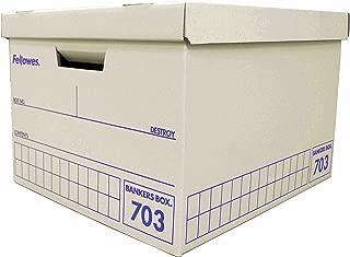 Fellowes バンカーズBOX 703ボックス(青)[3個パック] バンカ-ズBOX(970501)