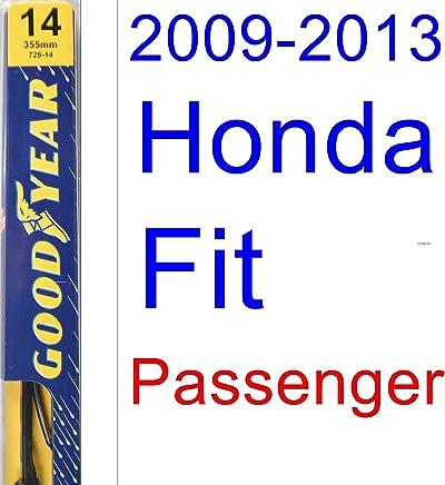 2009-2013 Honda Fit Wiper Blade (Passenger) (Goodyear Wiper Blades-Premium