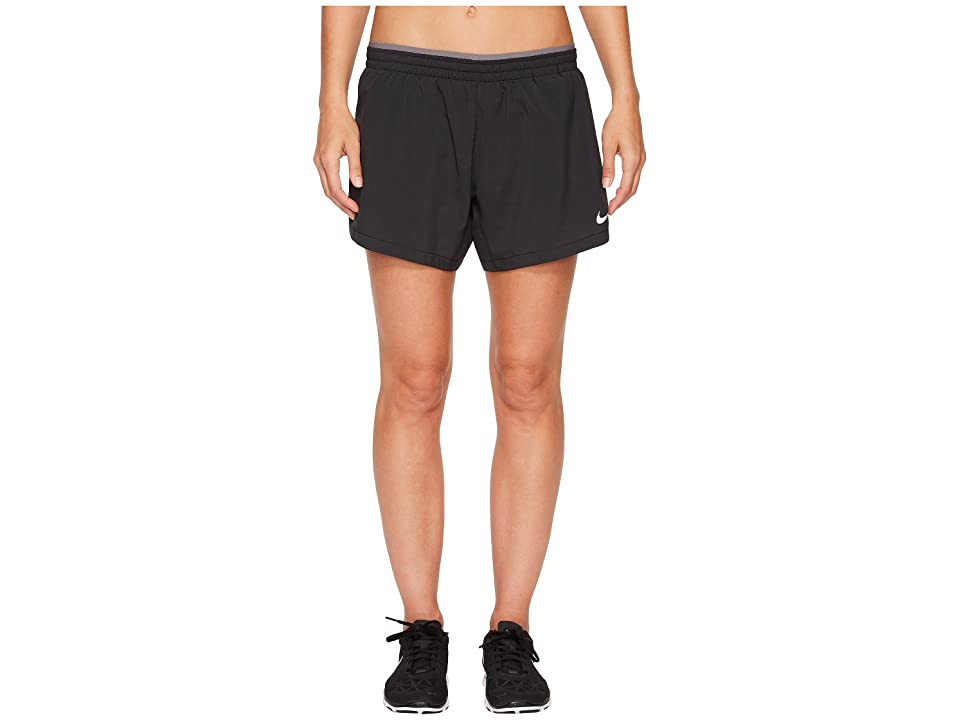 Nike Elevate 5 Running Short (Black/Gunsmoke) Women