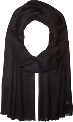 Calvin Klein - Solid Satin Finish Pashmina