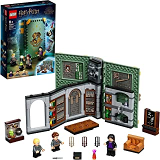LEGO 76383 Harry Potter Hogwarts Moment: Potions Class,Collectible Book Toy, Travel Case, Portable Playset