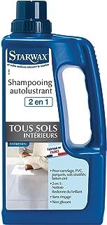 STARWAX Shampooing Autolustrant pour Sols Intérieurs - 1L - Idéal pour Nettoyer et Raviver la Brillance des Sols Intérieurs