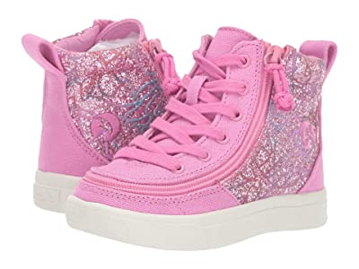 BILLY Footwear Kids Classic Lace High (Toddler) (Pink Print) Girl
