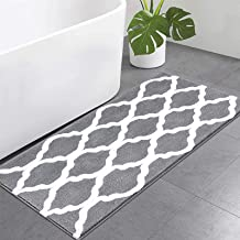 Pauwer Microfiber Large Bath Rug Runner for Bathroom, Non Slip Long Bath Floor Mats, Machine Washable Area Rug Absorbent B...