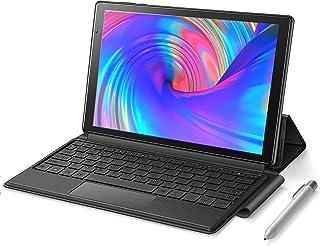 【2021NEWモデル】 Android10 タブレット P31 【キーボード+タッチペン付き】 2 in 1 10.1インチ RAM4GB ROM64GB 最大512GB拡張対応 Wi-Fiモデル 1920x1200 FHD Bluetoot...