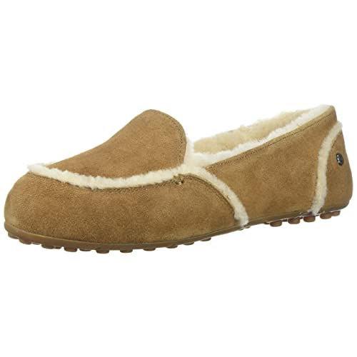 UGG Womens Hailey Suede Loafers