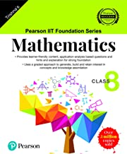 Pearson IIT Foundation Series - Maths - Class 8  (Old Edition)