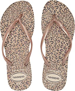 5458402a1 Havaianas top metallic flip flops rose gold