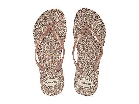 77c76b486d44 Havaianas Slim Animals Flip Flops at Zappos.com