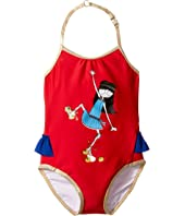 Little Marc Jacobs - Miss Marc One-Piece Swimsuit (Infant)