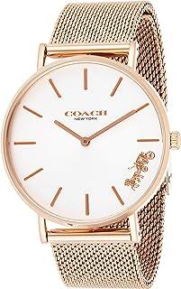 Coach Women's Perry Rose Gold Mesh Bracelet 14503126