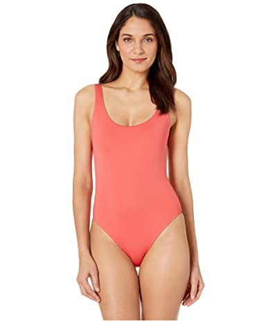 Skin The Lana Reversible Maillot (Persimmon/Sand) Women