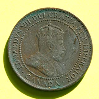 Canada - King Edwards VII 1902 One Cent Coin
