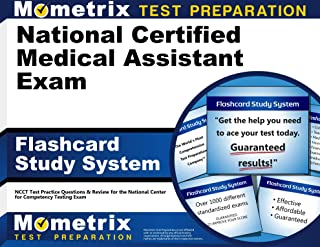 National Certified Medical Assistant Exam Flashcard Study System: NCCT Test Practice Questions & Review for the National Center for Competency Testing Exam (Cards)