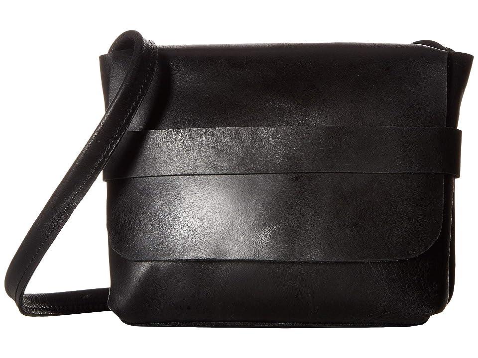 ABLE Mare Small Crossbody (Black) Cross Body Handbags