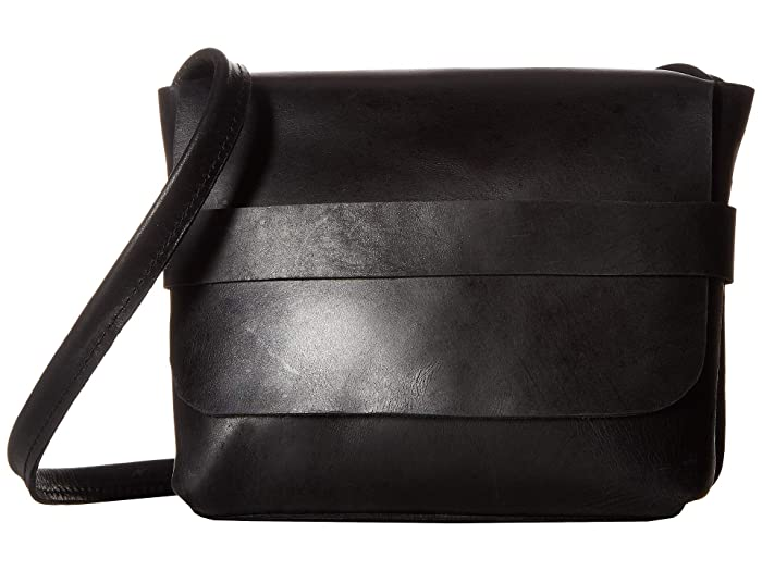 ABLE  Mare Small Crossbody (Black) Cross Body Handbags