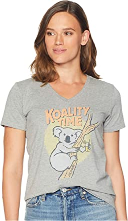 Koality Time Crusher Vee T-Shirt