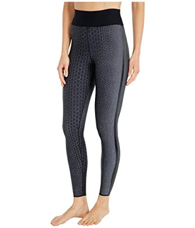Ultracor Pearls Ultra High Leggings (Pearls Nero Print/Patent Nero) Women