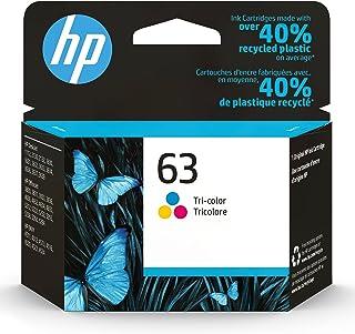 HP 63 | Ink Cartridge | Tri-color | Works with HP DeskJet 1112, 2100 Series, 3600 Series, HP ENVY 4500 Series, HP OfficeJe...