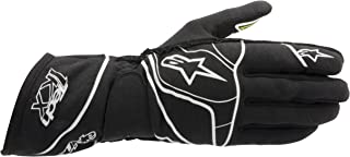 Alpinestars (3551812-125-S Black/White/Yellow Fluorescent Small Tech 1-KX Karting Gloves
