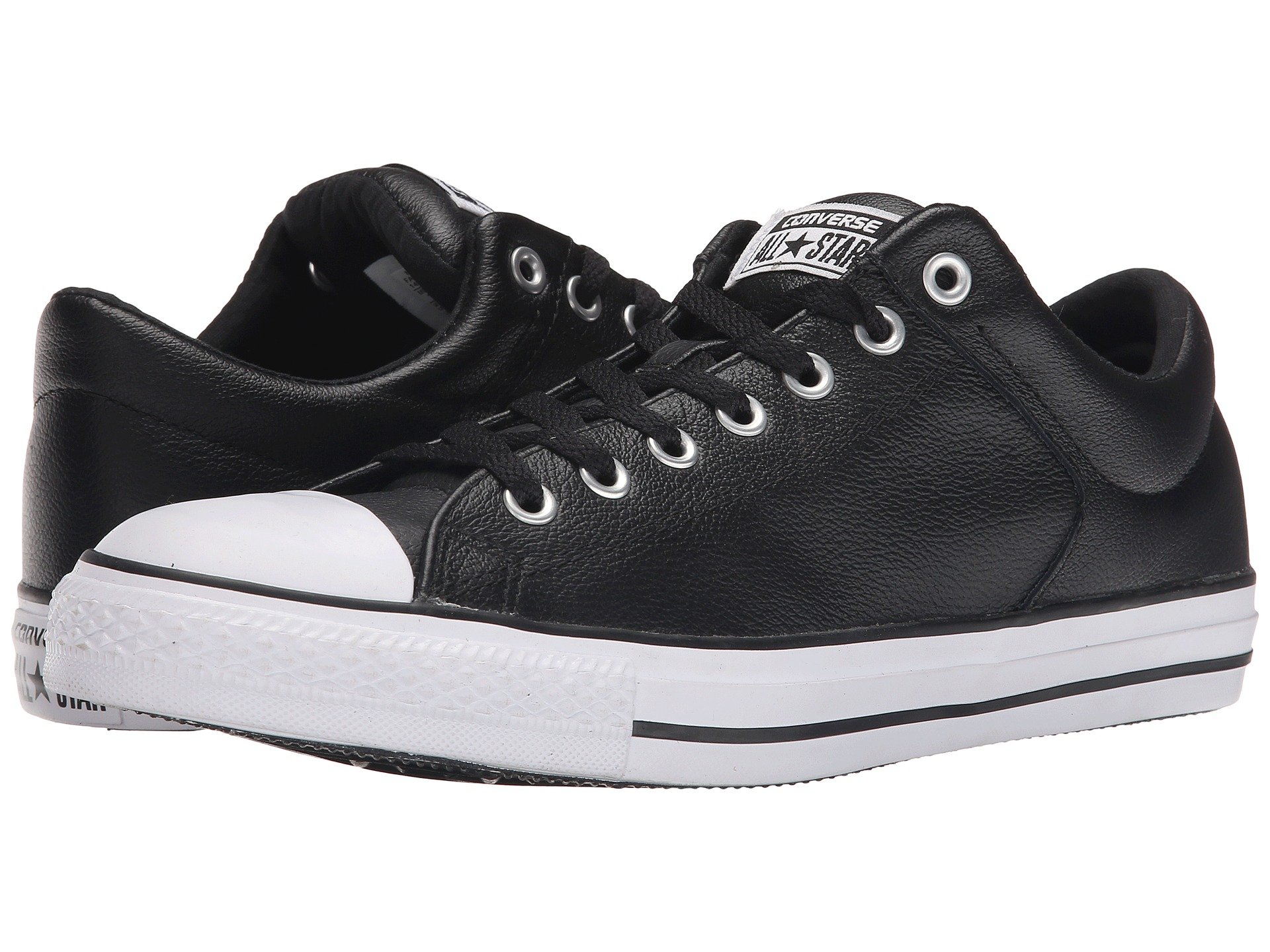 8b7491cc79 Converse Chuck Taylor® All Star® Hi Street Ox Leather In Black Black ...