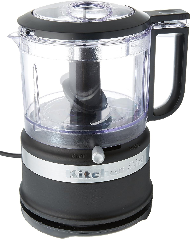 KitchenAid 3.5-Cup Food Chopper Award-winning store Limited time sale Matte Black medium