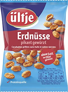 ültje Erdnüsse, pikant gewürzt, ohne Fett geröstet 200g
