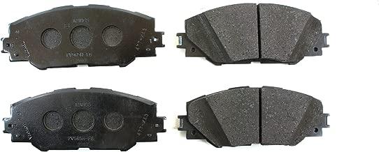 Toyota Genuine Parts 04465-42180 Front Brake Pad Set