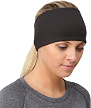 TrailHeads Ponytail Headband - Adrenaline Series | Women's Running Headband with Reflective Accents