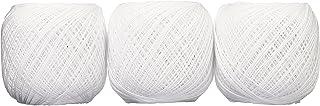 オリムパス製絲 金票 レース糸 #40 Col.801 ホワイト 系 10g 約89m 3玉セット