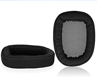 JARMOR Replacement Memory Foam & Mesh Fabric Ear Cushion Pads Cover for Logitech G433 G233 G PRO Headphone ONLY (Black&Fab...