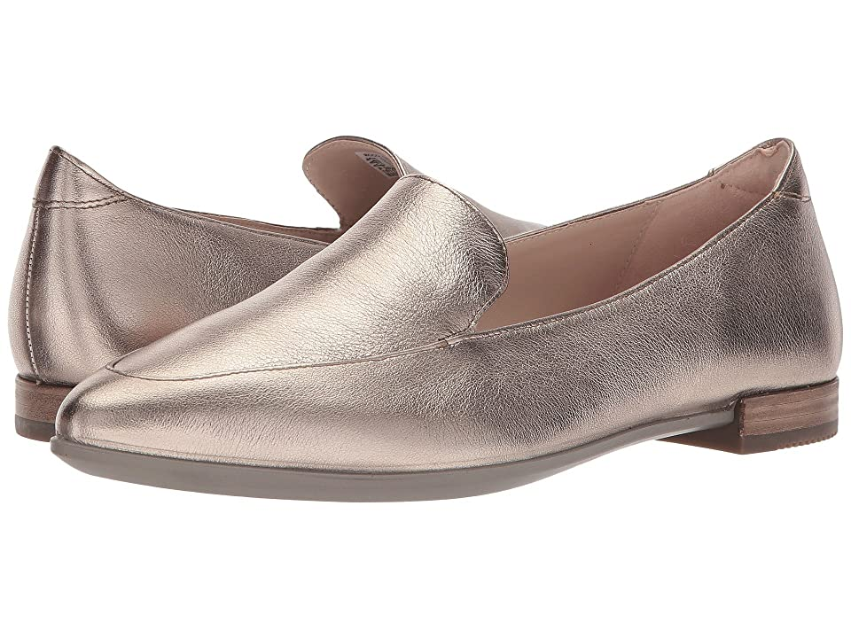 ECCO Shape Pointy Ballerina II (Warm Grey Cow Leather) Women