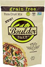 Boulder Bake Cauliflower Pizza Crust Mix - Grain and Gluten Free, Vegan, Non GMO, Low Carb (3 pack)