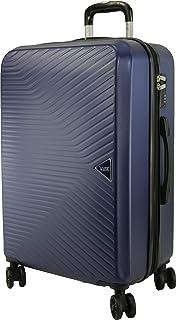 Valise Rigide VIDA VR620 Rapport Qualité/Prix Top (Marine (Blue), M-SOUTE-63/75L-3.3Kg-44x27x67cm)