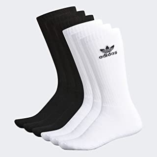adidas Originals mens Trefoil Crew Socks (6-pair)